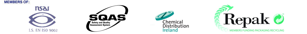 Members of NSAI, SQAS, Chemical Distribution Ireland, Repak
